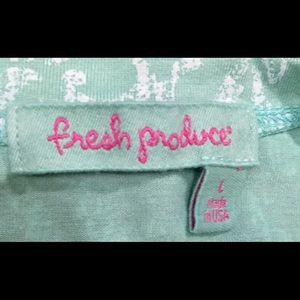 fresh produce Tops - Blue shirt / blouse fresh produce